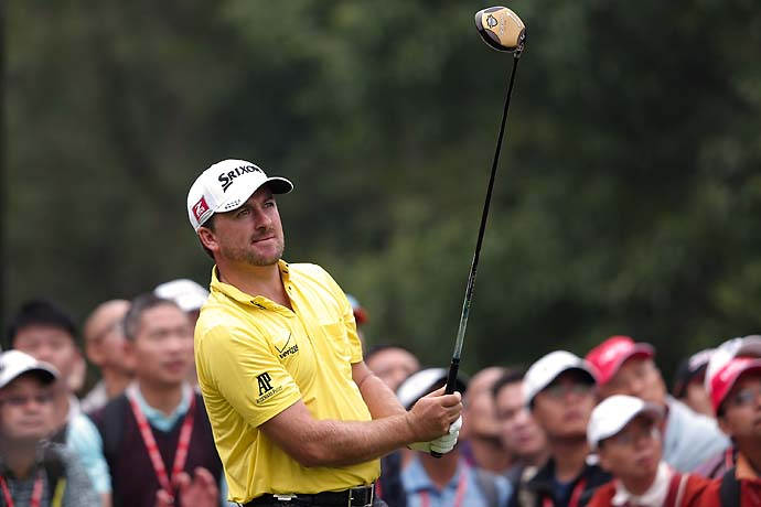 """It was kind of tough to focus when playing with Dustin Johnson, hitting it 350 yards in the middle of the fairways.  It was kind of a little demoralizing at times.""                       Graeme McDowell on playing with long-hitting Dustin Johnson at the HSBC Champions."