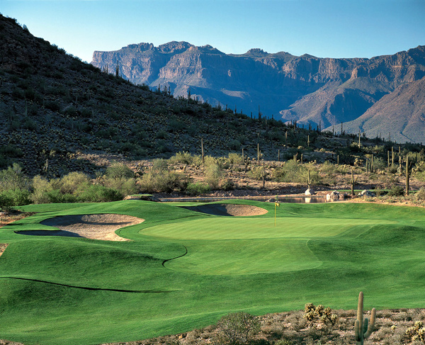 Gold Canyon Golf Resort | Gold Canyon, Ariz.                                   Green fees: $60-$185                                   480-982-9449, gcgr.com