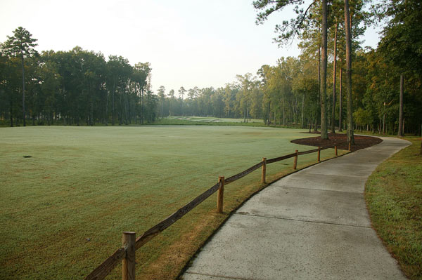 Here is a view of Champions Retreat Golf Club.                                                                     • See the listing at Meybohm Realtors                       • Return to Dream Homes