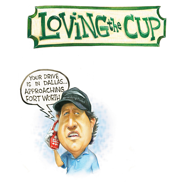 Loving the Cup                           By Kevin Cook                           FedEx spent an estimated $1 zillion to sponsor the Tour's season long points race and playoffs, but money isn't everything. To win golf fans' hearts, the FedEx Cup needs to deliver traditions — direct! Like...                           Online Tracking of Lost Balls