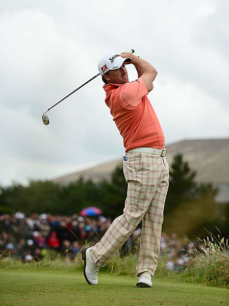 Graeme McDowell finished the second round with a one-under 69.