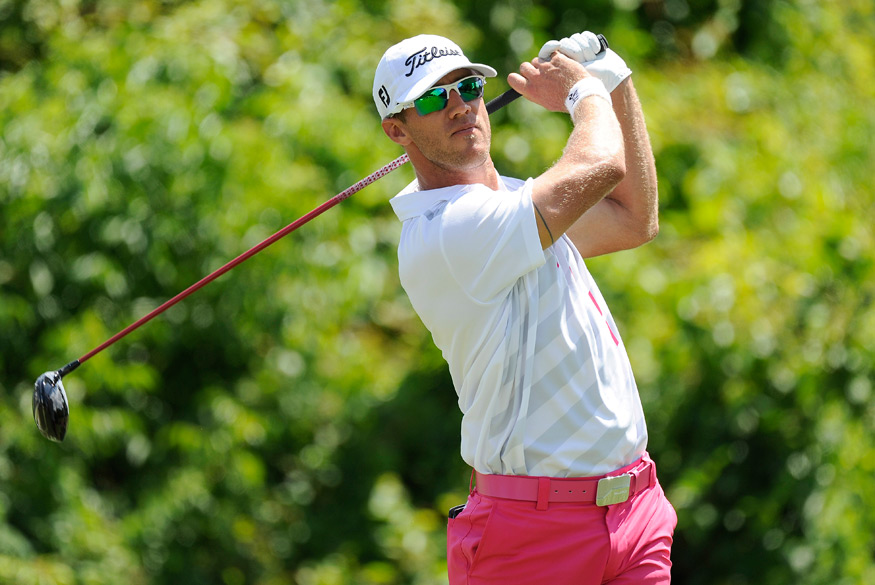 Graham DeLaet is in second place after a six-under 66.