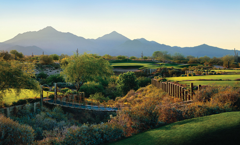 Grayhawk Golf Club (Talon) -- Scottsdale, Ariz. -- grayhawkgolf.com                            -- June 4-Sept. 13: $80 (Before 9:30 a.m.), $60 (Twilight)                           -- Sept. 14-30: $70 (Mon.-Thurs., Twilight), $80 (Fri.-Sun., Twilight)