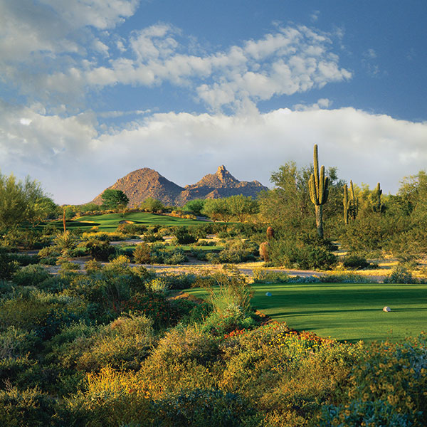 98. Grayhawk Golf Club (Talon) Scottsdale, Ariz.; David Graham / Gary Panks (1994) -- $60-$295, grayhawkgolf.com