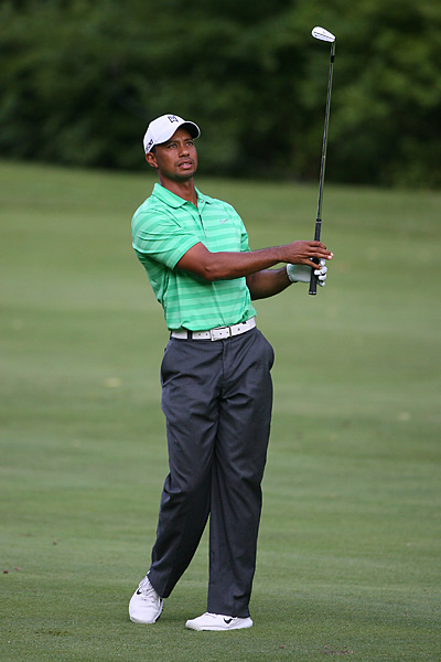 2012 Greenbrier Classic: Woods shot 71 and 69 and missed the ninth cut of his career in his Greenbrier Classic debut.