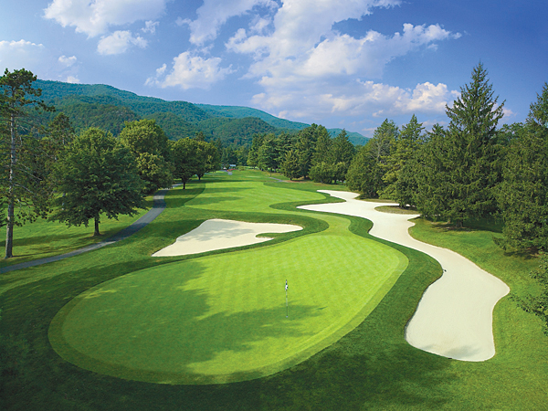The Greenbrier (Greenbrier)                       White Sulphur Springs, W. Va.                       $225                       greenbrier.com                                              In 1977, Nicklaus completely revamped the 1924 original in time to host the 1979 Ryder Cup. Mountain streams, forced carries and tight, forested fairways spice the play.