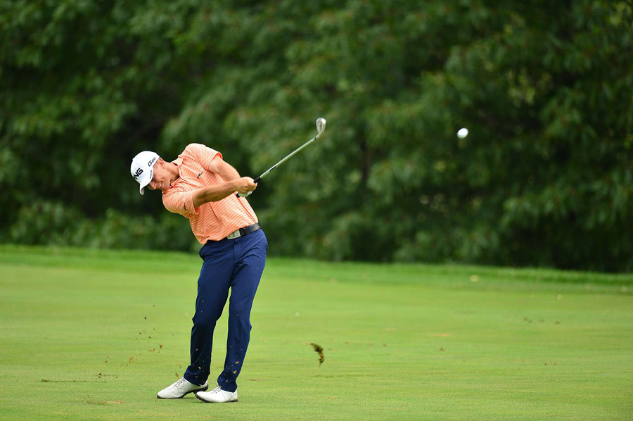 Luke Guthrie shot a three-under 68 to move into contention.