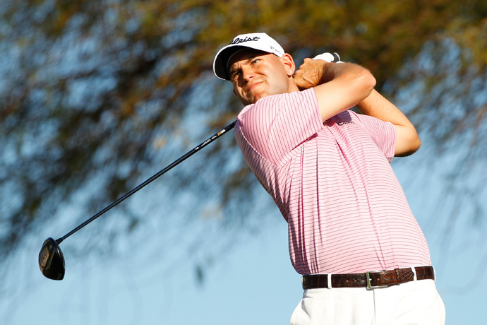 Bill Haas shot a bogey-free 64 to move into second place.
