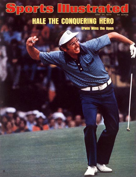 Hale Irwin wins the 1974 U.S. Open at Winged Foot, June 24, 1974