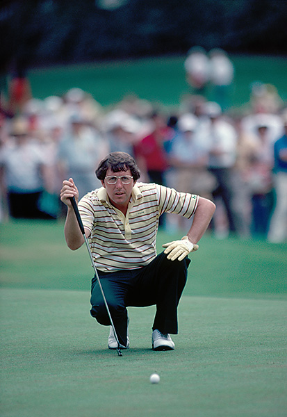 5. Irwin in 1982: In the very first Honda-sponsored event, co-leader Hale Irwin came to Inverrary's 72nd hole, a 407-yard par-4 needing a birdie. Instead, he flared his drive into the trees to the right. Navigating the tree branches brilliantly, Irwin smacked a low punch that trundled onto the green, nestling within three feet of the cup. Irwin canned the putt, giving him a one-shot victory over George Burns and Tom Kite.