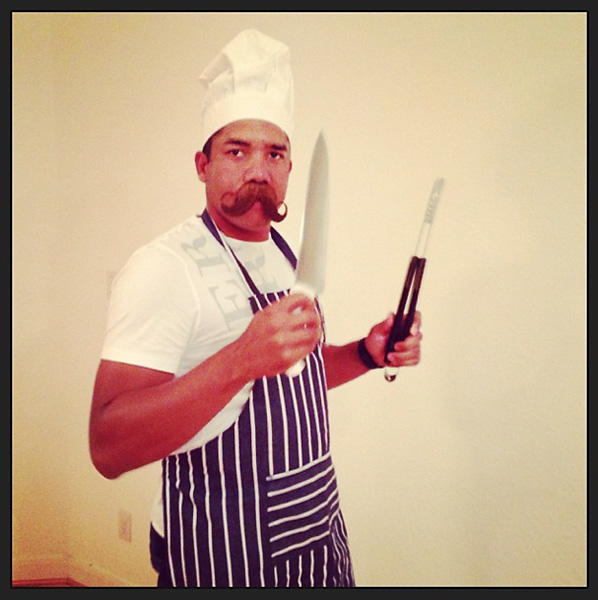 "Jhonny Vegas""Happy Halloween from Chef Vegas hahahahah. Chef de Calidad. Jaja #Halloween.""Via Instgram"