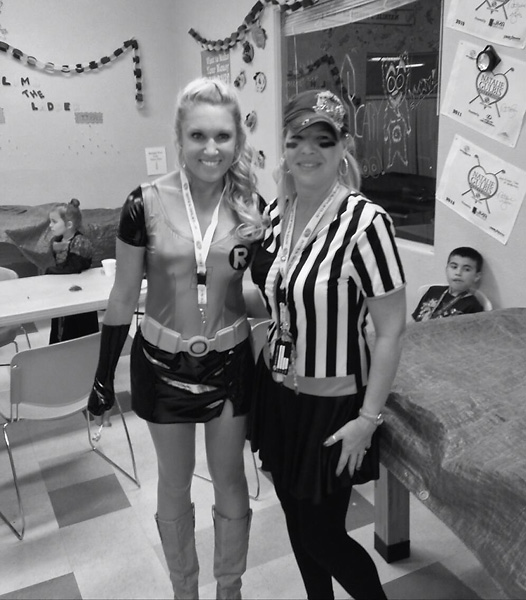 "Natalie Gulbis""Halloween Party at my Boys and Girls club."" Via Twitter."