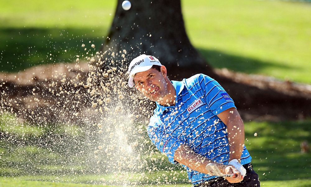 Padraig Harrington also had a 68 in the first round.