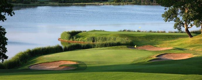 93. Hazeltine National                           Chaska, Minn.More Top 100 Courses in the U.S.: 100-76 75-5150-2625-1