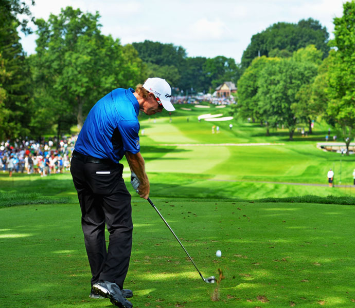 Canadian David Hearn shot a solid four-under 66.