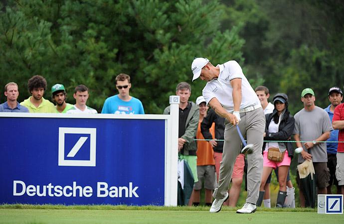 Tournament: Deutsche Bank Championship                       Champion: Henrik Stenson                       Driver: TaylorMade R1