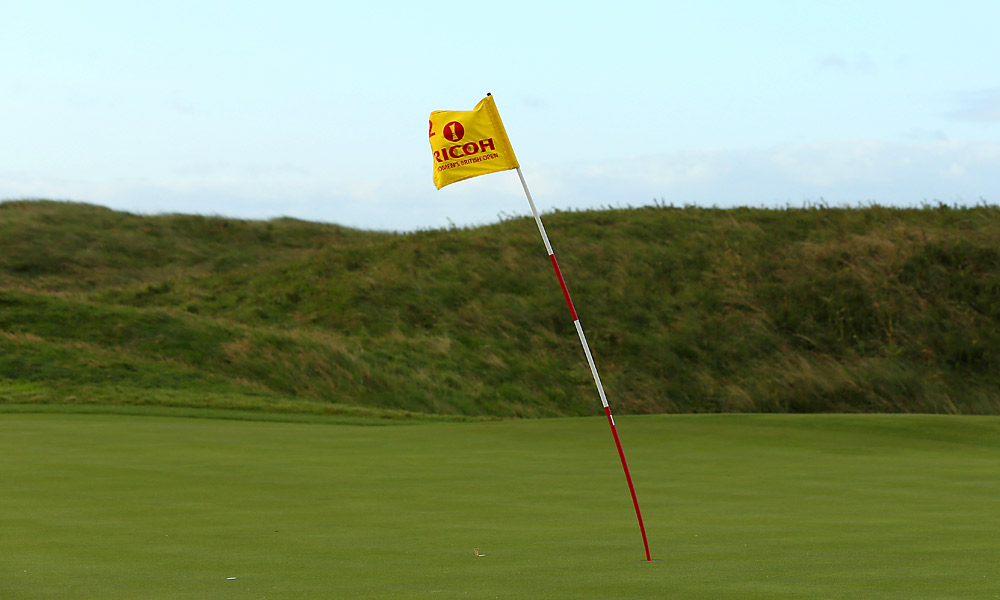 The second round was called off Friday at the Women's British Open due to wind gusts reaching 60 mph on the Royal Liverpool course.