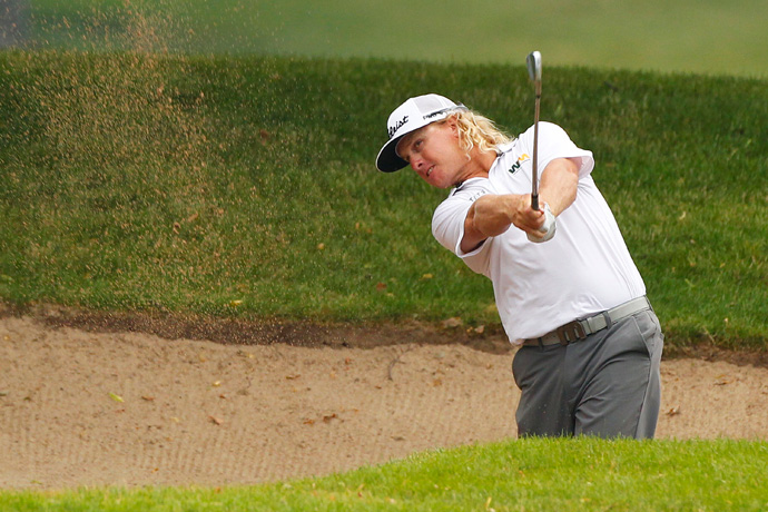 Charley Hoffman opened with five straight birdies and finished with a 67.