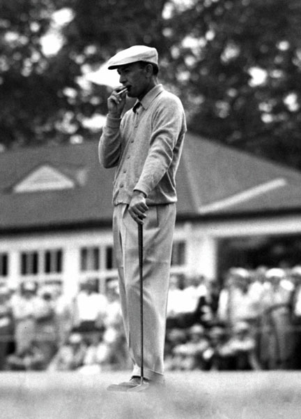 1B. Ben Hogan                       He won 64 tournaments and nine majors and is one of only five men to complete the career Grand Slam, winning the Masters, the U.S. Open, the British Open and the PGA Championship at least once.