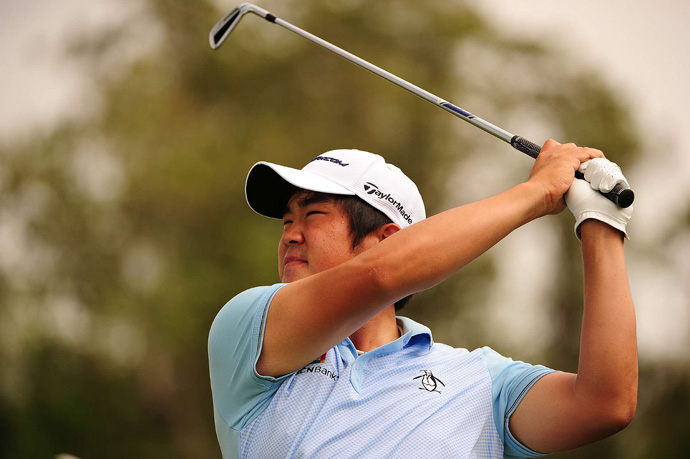 John Huh shot a one-under 71 to move into a tie for second.