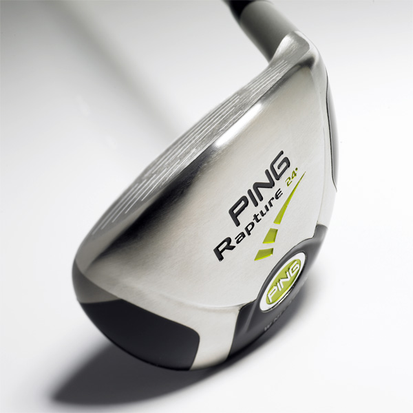 "Ping Rapture                       $179, steel; $209, graphite; pinggolf.com                       • Go to Equipment Finder profile to tell us what you think and see what other GOLF.com readers said about this club.                                              We tested: 18°, 21°, 24° in TFC 909H                       graphite shaft                                              Company line: ""A heavy tungsten-nickel                       soleplate contributes to higherlaunching,                       lower-spinning shots. Thin,                       super steel face provides hot, responsive                       hitting area. A sloped crown increases                       launch angle and reduces spin.""                                              Our Test Panel says: Pretty good sticks;                       can feel head weight from takeaway                       through impact; stable going through                       rough; impact feel is dull and                       uneventful; relatively low takeoff leads                       to good carry; off-center hits can go                       awry; straight silver line across crown                       is useful visual aid.                                              Solid, dependable clubs.—Jeff McKinney, 15 Handicap"