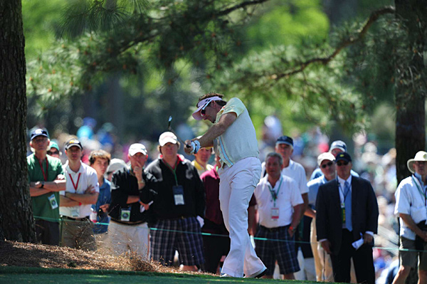 made five birdies and a bogey Friday. His second 68 of the tournament left him tied with countryman Westwood.