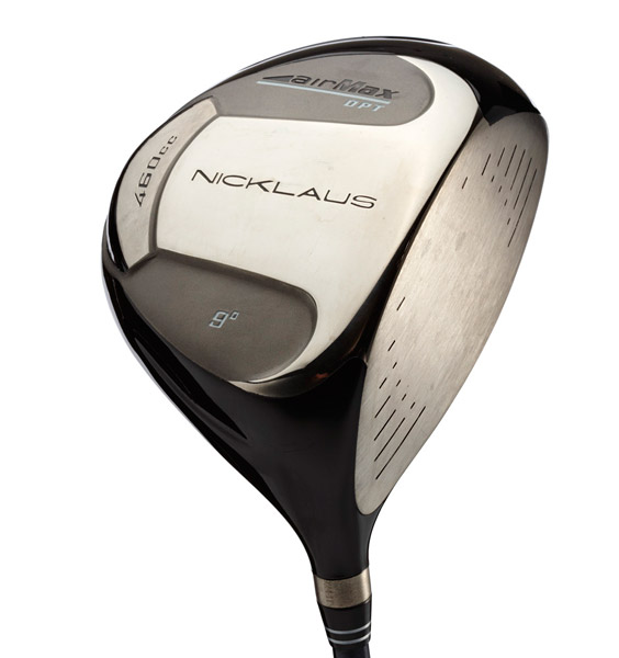 Nicklaus Airmax DPT 460Used by Jack: 2005-presentManufactured: 2005Majors won: NoneTechnology: Drivers today are more forgiving, with significantly more draw-bias. More efficient clubfaces ensure that mis-hits will perform almost as well as center strikes.History: Titanium drivers reached the 460 cc size limit five years ago. Variations now include geometric head shapes, removable weights or changeable shaft systems. A handful of clubs offer adjustable face angles, lie angles and loft to achieve the optimal ball flight.