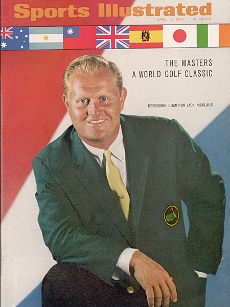 In an early example of the SI cover jinx, Nicklaus, a two-time defending champion heading into the 1967 Masters, missed the cut.