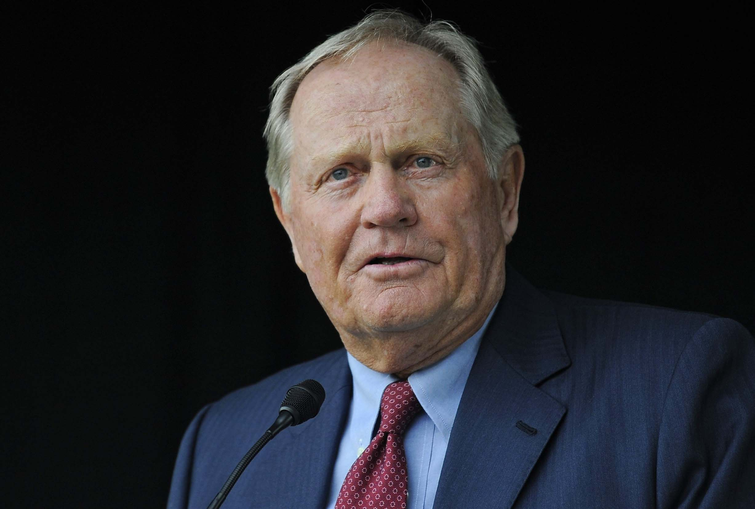 """I didn't have the privilege to serve my country when I was younger, and to be a part of this is special.""                           --Jack Nicklaus on building a second nine holes at the American Lake Veterans Golf Course for wounded veterans for free."