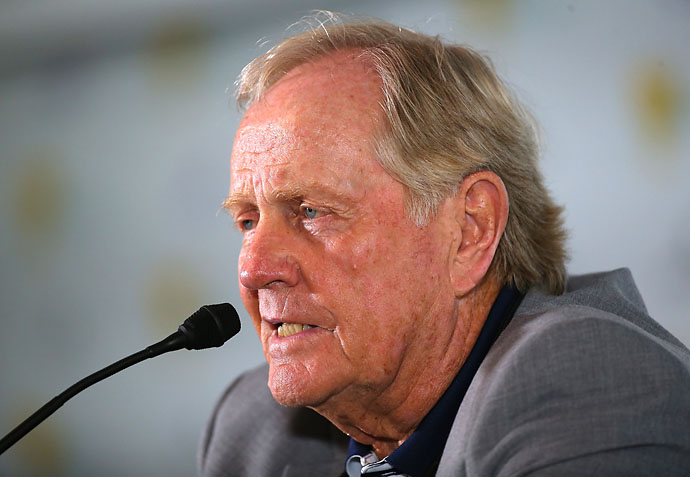 """Tiger is so talented, he's such a good player. I still think he's going to blow by my record, I really do -- if he's healthy.""                       --Jack Nicklaus on whether Tiger Woods will break Nicklaus' record of 18 major championships."