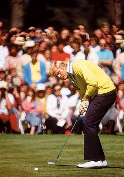 Nicklaus was the only player to finish under par in 1972.