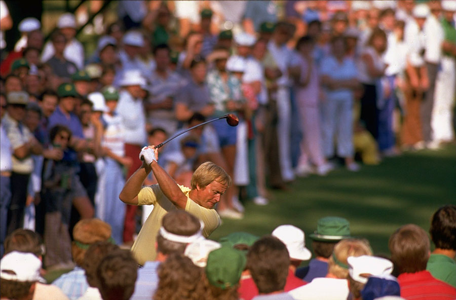 Nicklaus's sixth Masters title came 23 years after he won his first green jacket.
