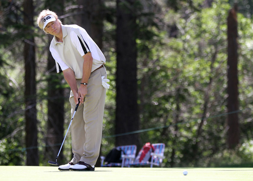 Jack Wagner, Bel-Air Country Club, Los AngelesWagner at the 2010 American Century Celebrity Golf Championships.