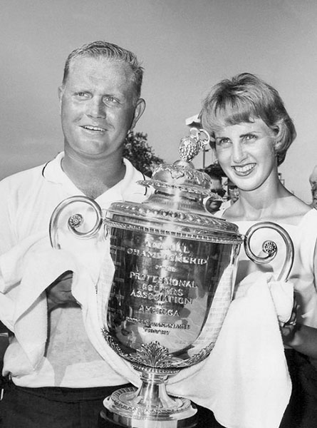 @jacknicklaus 51 years ago today, Jack Nicklaus won the 1963 @PGAChampionship at Dallas Athletic Club #pgachamp