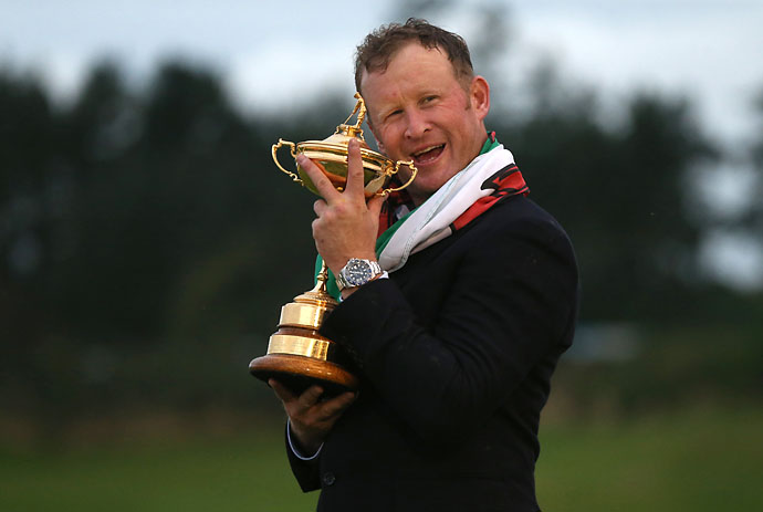 """I'm still drunk.""                           --European Ryder Cup hero Jamie Donaldson the morning after the Europeans won the Ryder Cup."