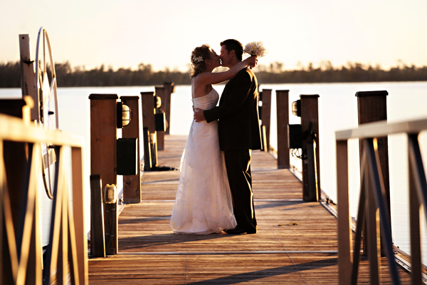 About 125 guests attended the afternoon ceremony and evening reception at Lake Nona Golf and Country Club.