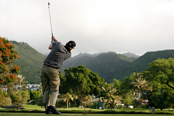 Steve Marino followed a first-round 65 with a 67 on Friday.