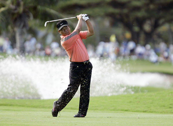 Third Round of the Sony Open                       K.J. Choi extended his lead to four strokes after a four-under 66.