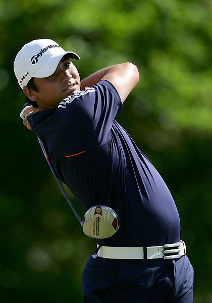 Rookie Jason Day missed the cut after rounds of 73-70.