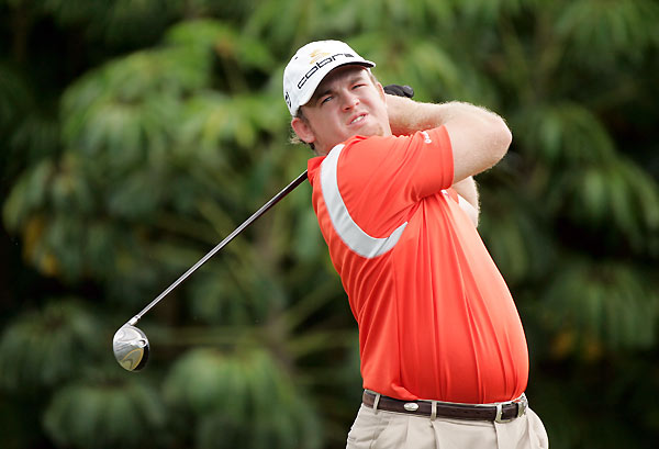 J.B. Holmes shot a six-under 64 and finished at eight under.