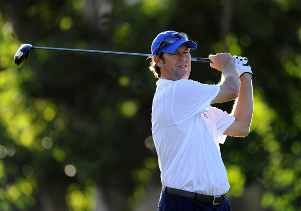 Former Ryder Cup captain Paul Azinger shot a 2-under 68.