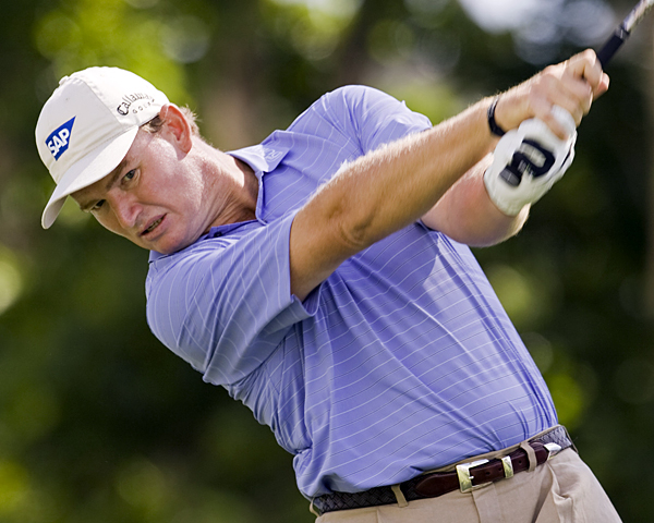 Two-time Sony Open champ Ernie Els made a double bogey, three bogeys and three birdies.