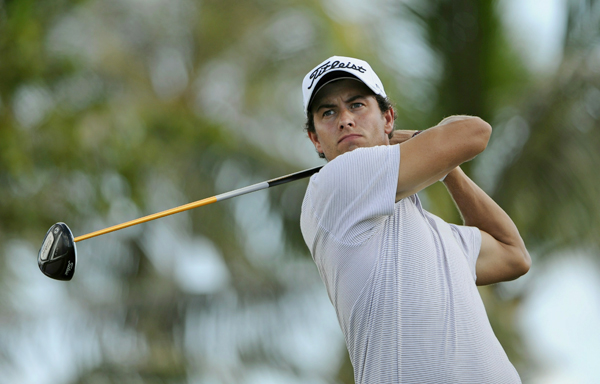 Adam Scott shot even par on Saturday, but it wasn't good enough to make it to the weekend.
