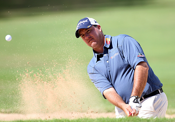 Boo Weekley got up-and-down from a bunker on No. 9, made birdie and shot a 66.