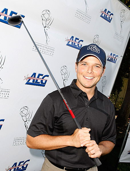 Actor Scott Wolf is making his Bob Hope Classic debut.