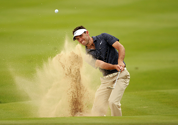 made nine birdies and a bogey for an 8-under 64 and a one-shot lead over Padraig Harrington.