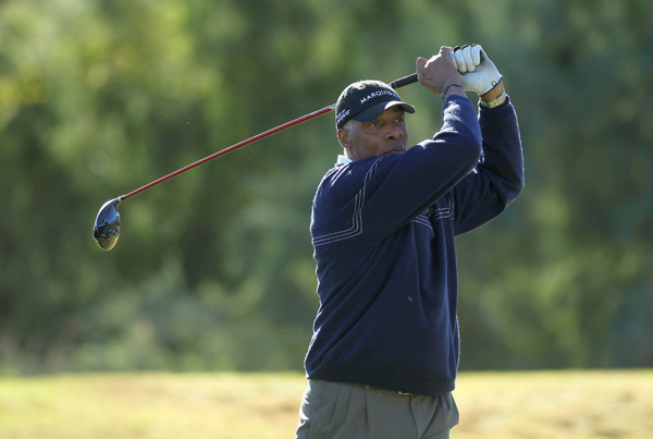 Julius Erving is one of the many former athletes and celebrities teeing it up this week.