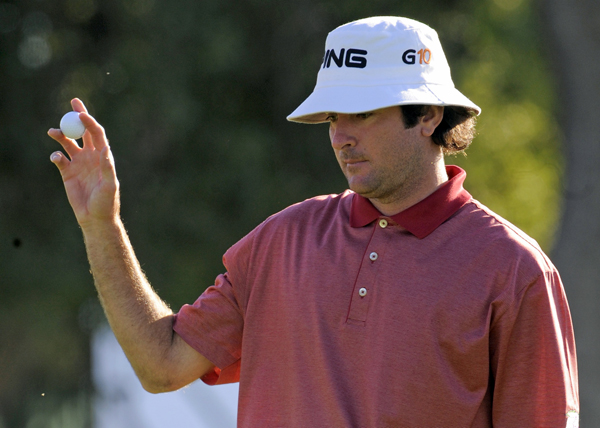 Bubba Watson made nine birdies for a 63.