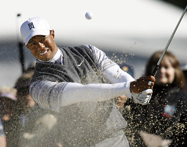 Woods is seeking his fourth-straight win at the Buick Invitational.