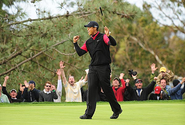 Final Round of the Buick Invitational                           Despite three straight bogeys on the back nine at Torrey Pines, Tiger Woods won easily in his 2008 debut.